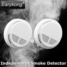 2017 NEW independent Smoke detector, When detect enough smoke, it will beep alarm,