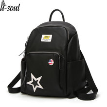 backpack women's back pack casual black high quality women backpack travel female school bags A4178(China)