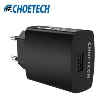 Pour Qualcomm Charge Rapide 3.0 18 W Micro USB De Bureau Mobile téléphone Chargeur QC3.0 Mur Charge EU Plug pour iPhone Samsung Xiaomi