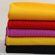 180cm*5yards free shipping knitted breathable quick drying polyester hole mesh fabric for shirt,sport cloth,sport lining