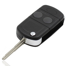 New 2 Button Flip Remote Key Fob Shell Case For Land Rover Freelander MK1 TD4 TD5 Free Shipping