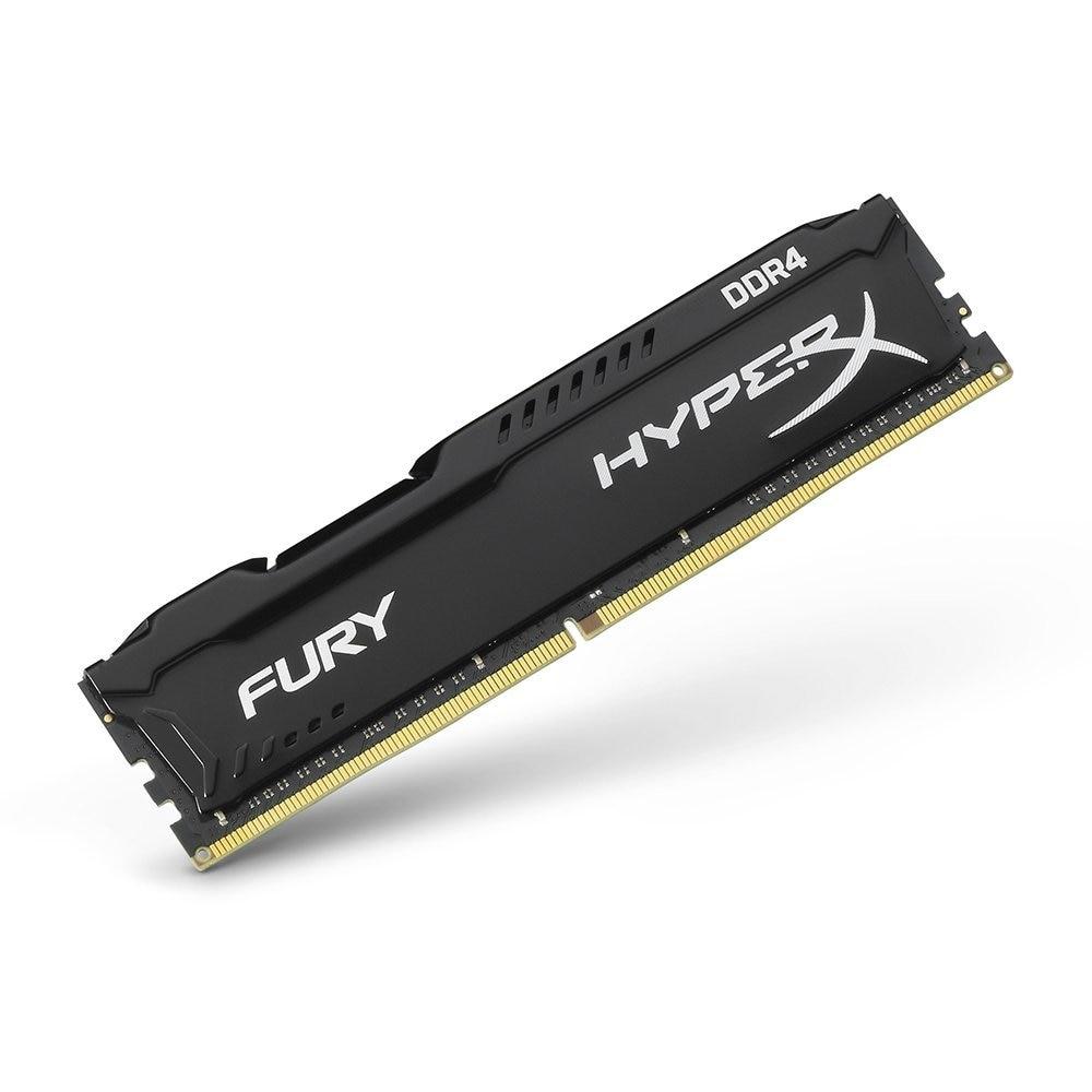 Kingston HyperX FURY Black Memoria Ram ddr4 8GB 2666MHz DDR4 Non-ECC CL16 HX426C16FB DIMM Desktop Memory Gaming Rams for Dota 2 (4)