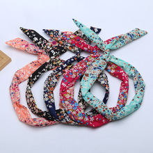 Wholesale diy headbands cloth fabric head bands Fashion tiara hair accessories  Headdress Hoop Black Hairbands for Women