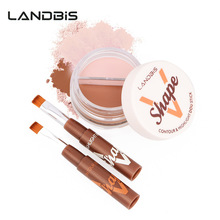 Natural Professional Concealer Palettes 3 Colors makeup Foundation Facial Face Cream Cosmetic make up color wi brush