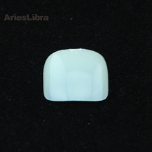 AriesLibra 100pcs/pack Fashion Natural Acrylic French False Toe Nail Art Tips Pedicure Nail Foot Patch DIY Decoration
