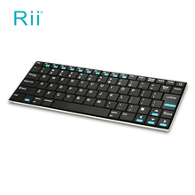 Rii Mini i9 Bluetooth Keyboard for Android MID Metal Fashionable Design Excellent Performance Meet Your Requirement of Work&Game(China)