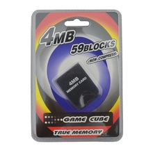 10pcs a lot 4MB Memory Card N for GC for GameCube(China)