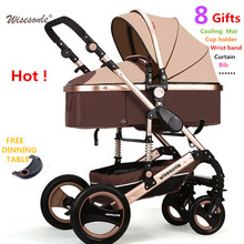 free shipping SGS certification  3 year warranty baby stroller 0 - 3 years  Multi-color choices Natural Rubber Four Wheel