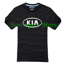 KIA 4S SHOP T shirt icon influx summer clothes class team apparel for women and men