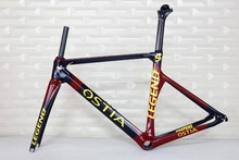 clearance sale one set OEM brand , TT-X1 aero road bicycle carbon frame .Chinese Super Light Full Monocoque Aero Carbon frame(China)