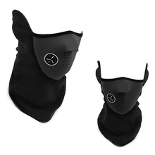 Outdoor Windproof Cycling Mask Riding Fleece Winter Warm Half Face Motorcycle Snowboard Ski Mask Balaclava Face Mask