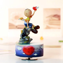I want your heart to relate the rotating music box on the clou birthday gift for girlfriend christmas gifts
