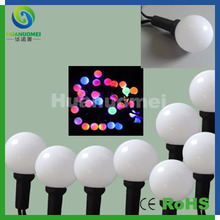 round shape led string lamps G40 led ball light addressable WS2811 IC,5V input for Christmas Wedding Club