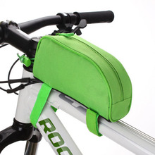 2017 High Quality Bicycle Cycling Bike Frame Front Top Tube Bag Outdoor Pouch