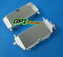 GPI Racing Aluminum radiator FOR Kawasaki 2-stroke kx250 kx 250 2003 2004 03 04