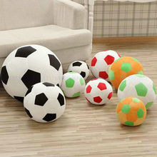 Soft Football Plush Toy Pillow Kids Soccer Ball Doll Stuffed baby Toys Sofa Decorative Cushion