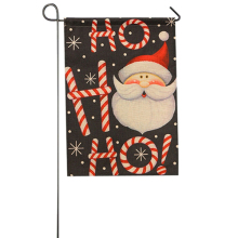 Garden Flag Indoor Outdoor Home Decor Winter Snowflake Christmas Santa Claus Reindeer Snowman Festival Party Supplies