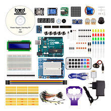 Made in Italy Arduino UNO Project The Most Complete Starter Kit with Tutorial / Power Supply / Stepper Motor(China)