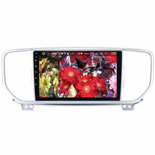 "9"" 2G+16G Android 7.1 System Car Multimedia Radio For Kia Sportage 2015+ Double Din Head Unit WIFI 4G HDMI DAB Option Quad Core(China)"