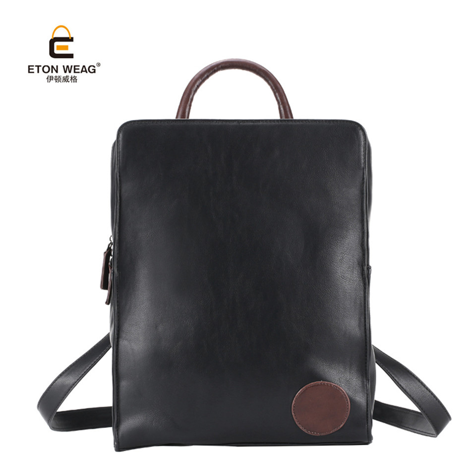 ETONWEAG Brand 2017 New Designed European and American Urban Style Men Laptop Backpack High Quality Fashion Male School Bags<br>