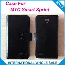 Hot! 2016 MTC Smart Sprint 4G Case Phone Factory Price Original Leather Exclusive Cover For MTC Smart Sprint 4G Case tracking(China)