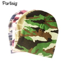 Partisig Brand Camouflage Baby Hat Cotton Knitted Leopard Baby Cap Spring Autumn Winter Children's Hats Caps(China)
