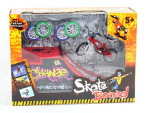 Fingerboard finger bicycle bike + runway originality intellectual mini toys Tech Skateboard Stunt site kids birthday g