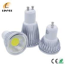 Cree GU10 3W 5W 7W Dimmable COB LED Sport light lamp led bulb 120 Angle Warm/Cool White AC110V-240V energy saving lamp