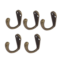 35*36*16MM Retro Bronze Clothes Towel Hanging Hooks Vintage Wall Board Display Hanger Wood Rack Shelves DIY Hooks