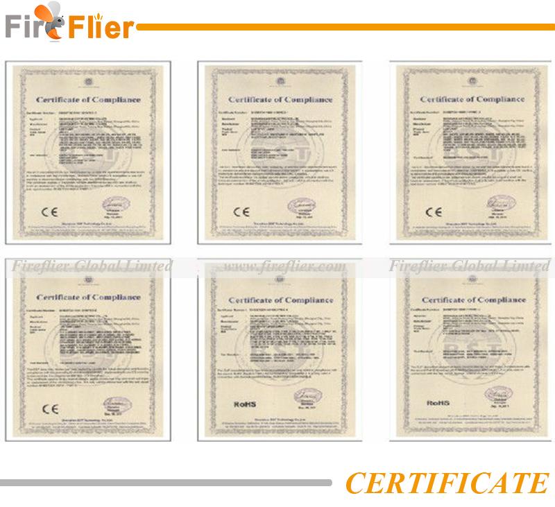 FIREFLIER Certificate