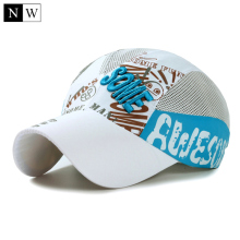 2017 Children Kids Baseball Cap Boys Girl Cartoon Baby Hat Summer Soft Quick-Drying Sun Gorra Casquette Size 52-54cm