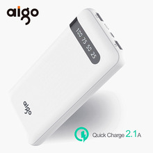Buy 20000mAh Universal bateria quick charge Fast power bank Dual USB Input Port Charger Large Capacity Battery Mobile Phone for $39.21 in AliExpress store