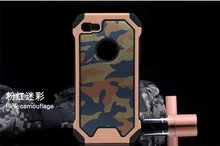 For Apple iPod Touch 5 Touch 6 Hybrid Camouflage Shockproof 2 IN1 Case Military Camo Cover Case Hard Case Protective Shell+Flim