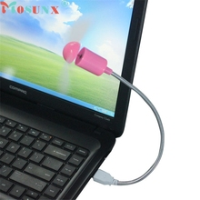 mosunx NEW Mecall Pink Flexible USB Mini Cooling Fan Cooler For Laptop Desktop PC Computer wholesale Oct20