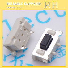 50PCS/lot  3 x6x3.5 mm 3 * 6 * 3.5mm touch switch SMD MP3 MP4 MP5 Tablet PC power button switch