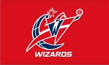 Washington Wizards big logo Flag 3x5 FT 150X90CM Banner 100D Polyester  flag 2 metal holes