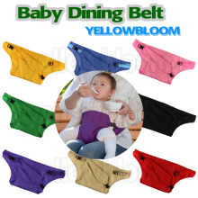 Baby Dining Belt Portable Infant Chair Seat Product Stretch Wrap Safty Cotton Belt Harness Baby Carrier