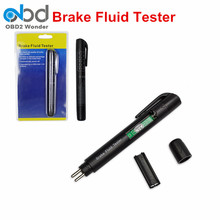 Universal Mini Electronic Brake Fluid Tester Pen Auto 5LED Car Fluid Liquid Tester Diagnostic Tool Test Brake Oil For DOT3 DOT4(China)