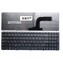 Laptop Keyboard Russian Black U50 A52J X54H ASUS G60 K53 K52N New FOR G72x53/X54h/K53/..