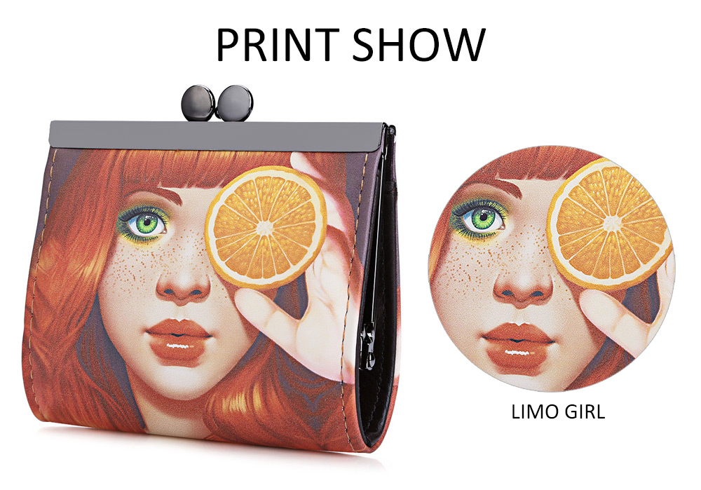 Cartoon Women Wallet Leather Women Purse Fox Female Bags Coin Purse Cute Small Wallets Short Animale Prints Girls Money Bag Lady 12