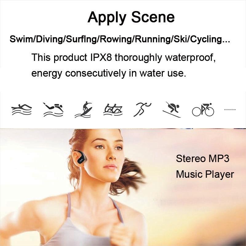 1.MP3 IPX8 Waterproof