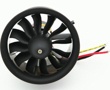 1 set Change Sun 64mm Ducted Fan 12 Blades with EDF 3s 3200KV kv3200 motor all set free shipping
