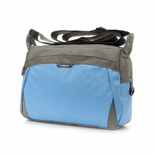 Outdoor Sports Waterproof Nylon Travel Zipper Pocket Handbags Men Women Inclined Shoulder Bags Messenger Bag