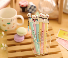 1pcs/Lot  Sunny Dolls  Ball Point Pen Japanese kawaii pens stationery papelaria Office supply school canetas escolar