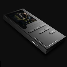 GERUIDA NEW MP4 Music Player, Full Metal MP4 Player With Voice Recorder Loudspeaker Support TF Video FM Watch E-Book Pictures(China)