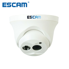 Escam OWL QD100 IP Camera Night Vision Onvif 3.6mm len HD 720P H.264 1/4 CMOS P2P Mini Camera IR Security CCTV Camera(China)