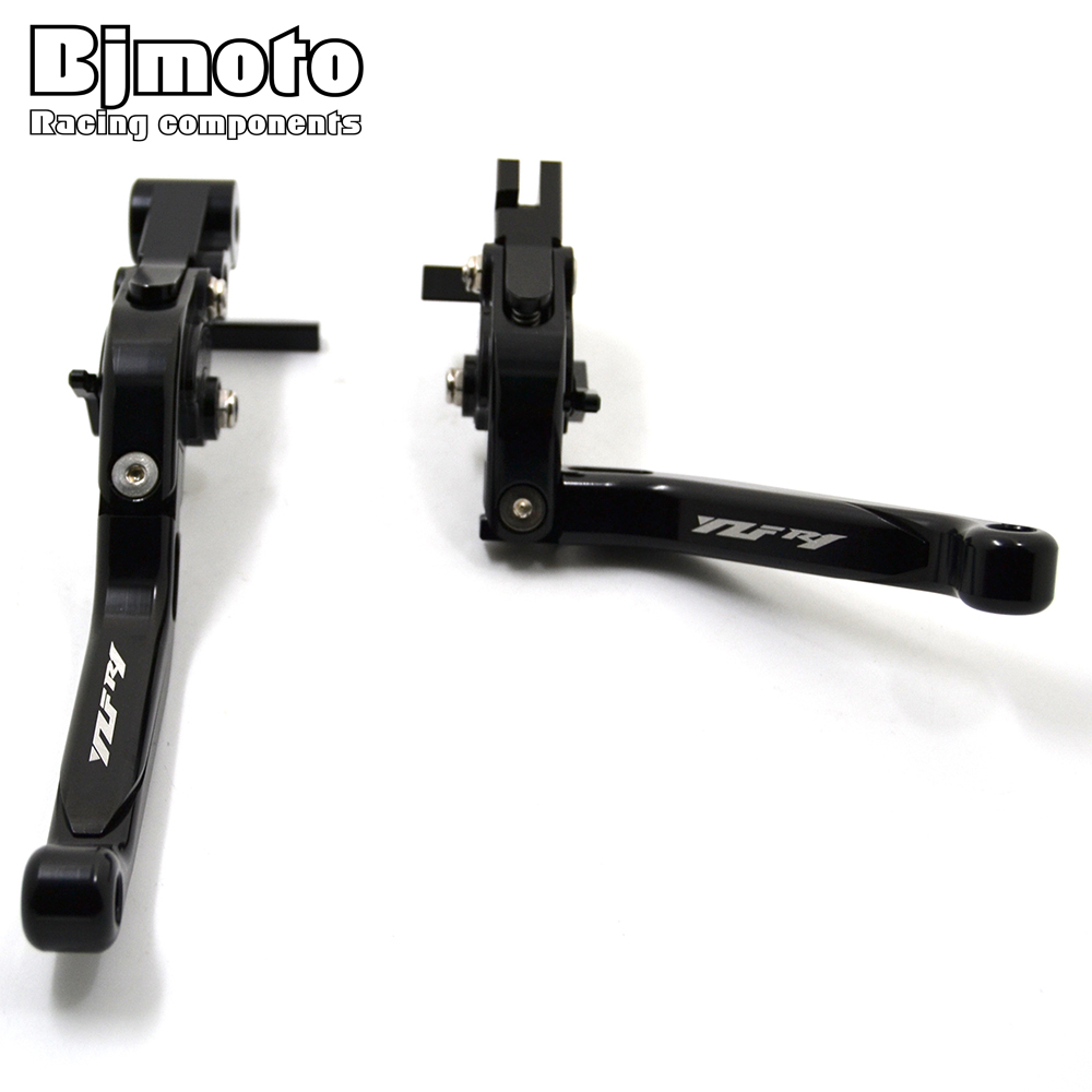 BJMOTO Motorbike CNC Adjustable Foldable Extendable Brake Clutch Levers For Yamaha YZF R1 2015 2016 2017<br>