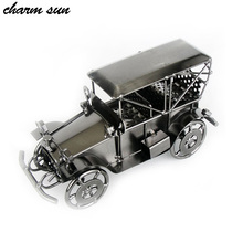 Europe and the United States hot car model season to send gifts to friends home decoration features antique metal crafts home(China)