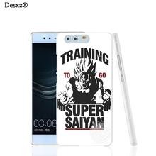 Desxz 17451 Training to go Super Saiyan Dragon ball Z cell phone Cover Case for huawei Ascend P7 P8 P9 lite Maimang G8(China)