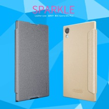 Buy NILLKIN Sparkle Case Sony Xperia XA1 Plus (XA 1 Plus) super thin flip cover leather case Retailed Package for $7.91 in AliExpress store